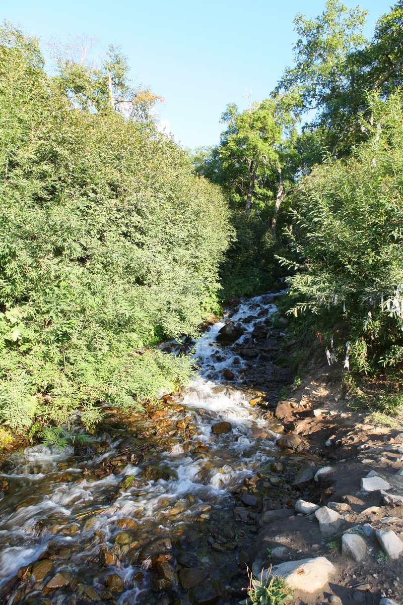 Путь к водопаду